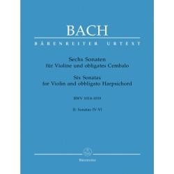 6 SONAT NA SKRZYPCE I KLAWESYN BWV 1014-1019 VOL.2