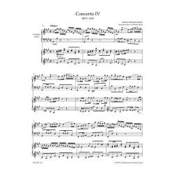 KONCERT NR 4 A-DUR BWV1055 NA KLAW.I SMYCZ./WYC./