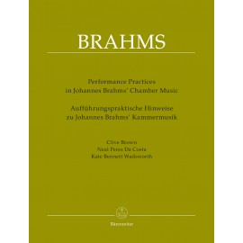 PERFORMANCE PRACTICES IN J.BRAHMS' CHAMBER MUSIC