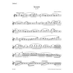 SEXTET  G-DUR OP.36 /  PARTS