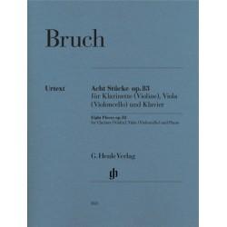 ACHT STUCKE OP.83 FOR CLARINET (VIOLA) VIOLINO (VI