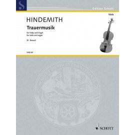 TRAUERMUSIK FOR VIOLA AND ORGEL