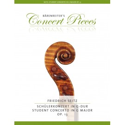 STUDENT CONCERTO NO.2 G-DUR  OP.13
