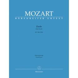 ZAIDE KV 344 (336b) VOCAL SCORE