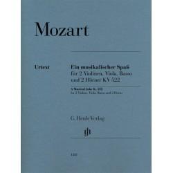 A MUSICAL JOKE K.522 / 2VL. VLA, BASSO & 2 HORNS