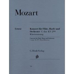 CONCERTO FOR FLUTE, HARP & ORCHESTRA C-DUR KV 299