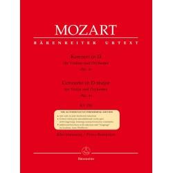 CONCERTO IN D MAJORFOR VIOLIN & ORCHESTRA NO.4 KV