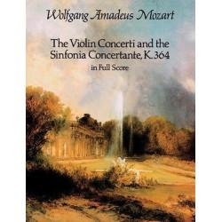 VIOLIN CONCERTI & SINFONIA CONCERTANTE / FULL SCOR