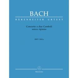 BACH J.S. BA5245, CONCERTO A DUE CEMBALI BWV 1061A