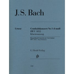BACH J.S. HN 1380, HARPSICHORD CONCERTO NO.1