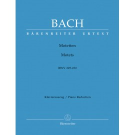 BACH J.S. BA 5193A, MOTETS  BWV 225-230   VOCAL SC