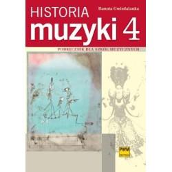 HISTORIA MUZYKI T.4