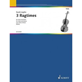 3 RAGTIMES FOR VIOLA & PIANO