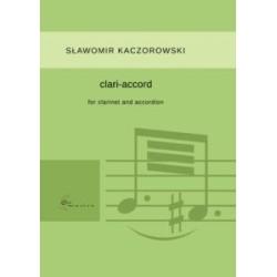 CLARI-ACCORD for clarinet and accordion