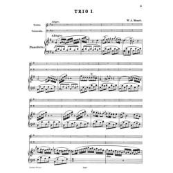 TRIOS / PIANO, VIOLINO, VIOLONCELLO