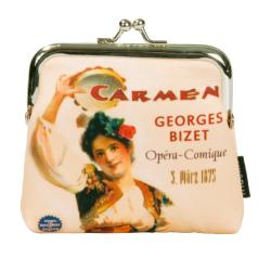 Portmonetka, motyw Carmen