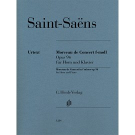 MORCEAU DE CONCERT IN F MINOR OP.123 FOR HORN AND