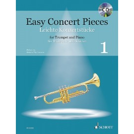 EASY CONCERT PIECES    ED 22555