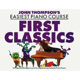 EASIEST PIANO COURSE / FIRST CLASSICS