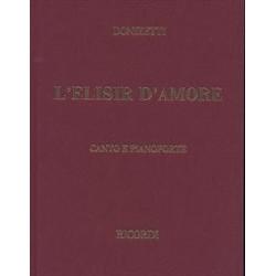 L'ELISIR  D'AMORE  /  VOCAL SCORE