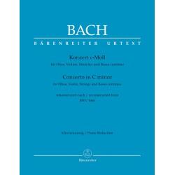 BACH J.S.  BA 5147-90, KONZERT C-MOLL  BWV 1060 -