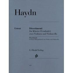 DIVERTIMENTI FOR PIANO, 2 VIOLINS & VIOLONCELLO