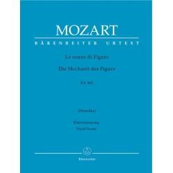 LE NOZZE DI FIGARO KV 492 VOCAL SCORE