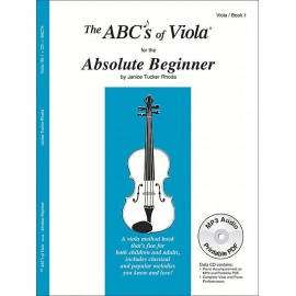 ABSOLUTE BEGINNER ABC7X, ABC's OF VIOLA   VOL.1