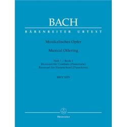 BACH J.S.  BA 5154, MUSIKALISCHES OPFER Z. 1  BWV