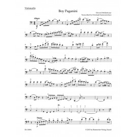 THE BOY PAGANINI / ARRANGED FOR CELLO