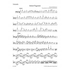 THE INFANT PAGANINI / ARRANGED FOR CELLO