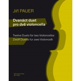 12 DUETS FOR TWO VIOLONCELLOS